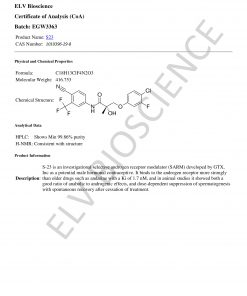 Buy S-23 SARM, Buy SARMS, Research, Inhibitors, SARMs, SARMS, LGD 3033, Lgd 3033, LGD-3033, Lgd-3033, Testing, Tests, Pure