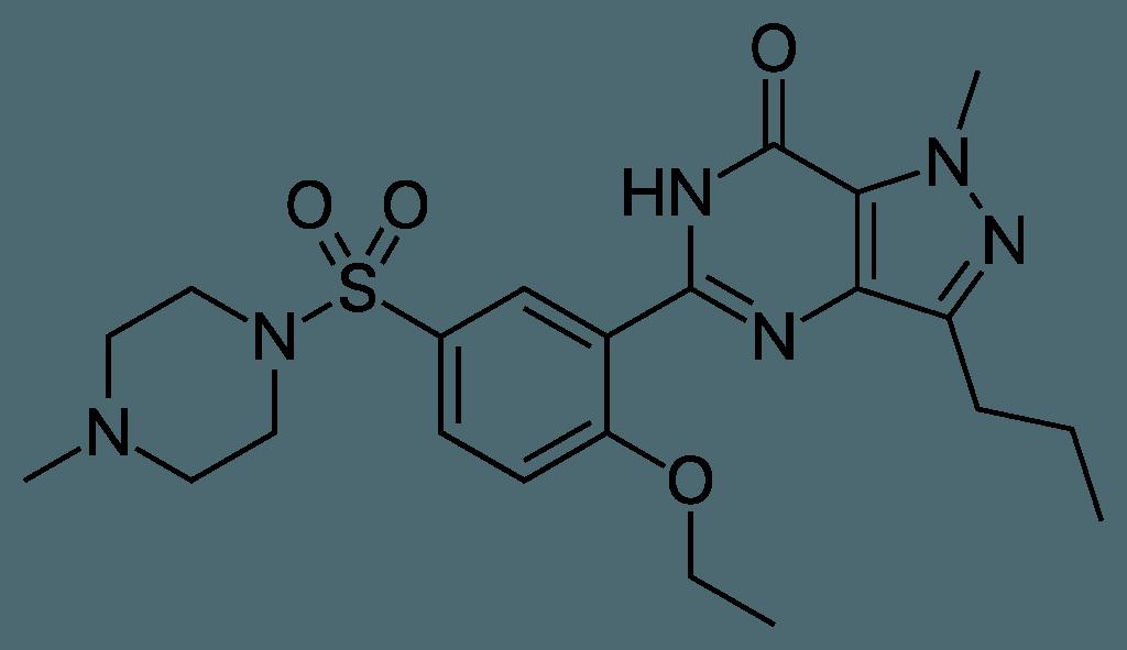 Sildenafil Chemical Structure